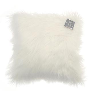 Country Club Long Pile Cushion, Natural