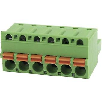 Degson Pin behuizing - kabel totaal aantal pinnen 6 Contact afstand: 5.08 mm 2EDGKD-5,08-06P-14-00AH 1 PC('s)