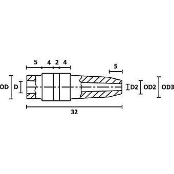 HellermannTyton H126 PVC GY 1000 cabo manga Terminal Ø (máx.) 5 mm PVC cinza 1 computador (es)