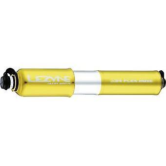 Lezyne 31 -73-0159.10 legering aandrijving Gold M mini pomp goud