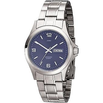 Men's Wristwatch Quartz Analog Stainless Steel Men's Watch with Date