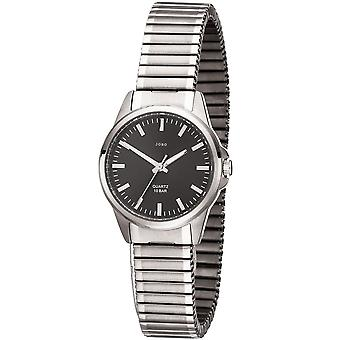 JOBO ladies wrist watch quartz analog titanium cable ladies watch