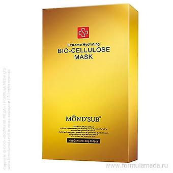 Mond'Sub Extreme Hydrating Bio-Cellulose Luxury Mask 4-Pack Genuine