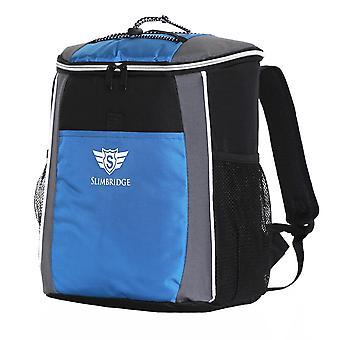 Slimbridge Brean isolée pique-nique sac à dos, bleu
