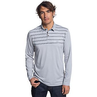 Quiksilver River Explorer Polo Shirt in Grey Marl