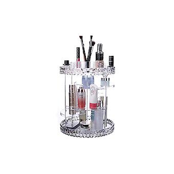 3 Tier Large Cosmetic Storage Make Up Organiser With Adjustable Shelves