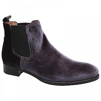 Calpierre Velvet Chelsea Ankle Boot