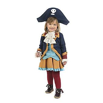 Little pirat jente barn drakt Seeräuberin girl kostyme