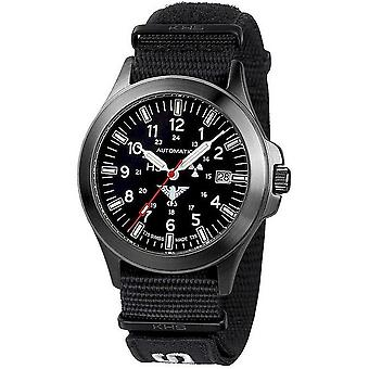 KHS watches mens watch black platoon automatic KHS. BPA. NXT7