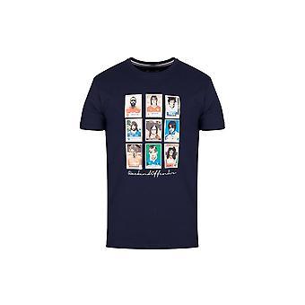 Weekend Offender Navy Soccer Stars T-shirt