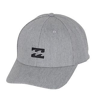 Billabong mannen Snapback Cap ~ All Night grijs