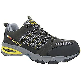 Grafters Mens Nighthawk Fully Composite Non-Metal Safety Trainers