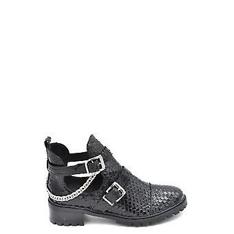 Schutz Ezbc080009 Dames's Black Leather Enkellaarzen