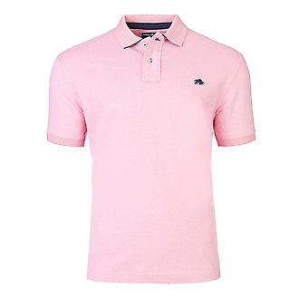 Signature Jersey Polo - Pink