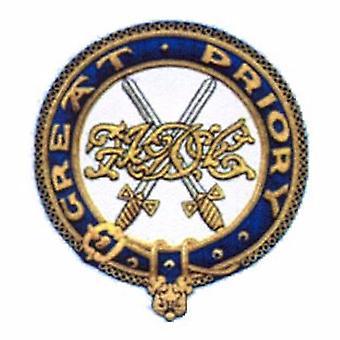 Insigne de grand manteau Prioriy chevaliers des Templiers