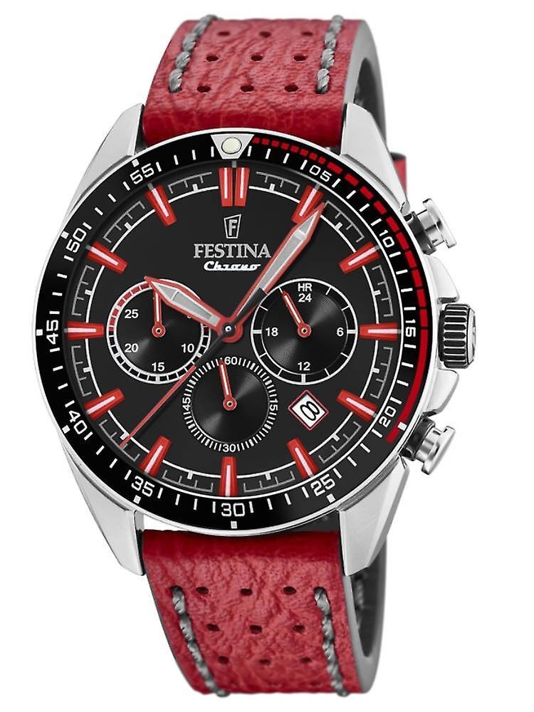 Festina F20377/5 The Originals Chronograph Mens Watch 44 Mm