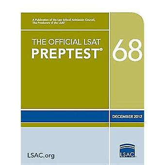 The Official LSAT Preptest 68 by Law School Admission Council - 97809