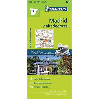 Alrededores de Madrid Michelin Zoom Map 121 - Around Madrid - 97820672