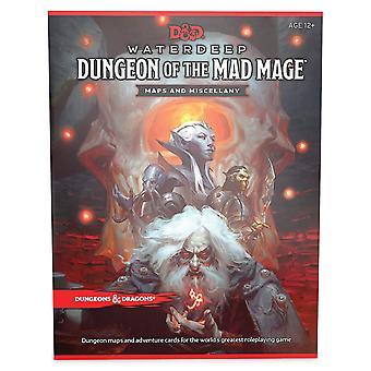 D&D Waterdeep Dungeon van de Mad Mage kaarten en Varia