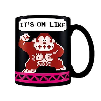 Nintendo It's on Like Donkey Kong Mug