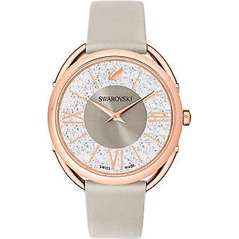 Swarovski kristallijne Glam Leather Watch 5452455