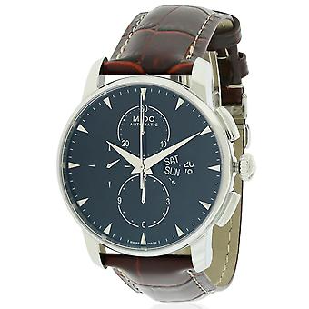 Mido Baroncelli cuir Automatic Chronograph Mens Watch M8607.4.18.82