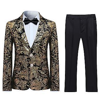 Allthemen Boy's Suit 2-Pieces Jacket & Pants