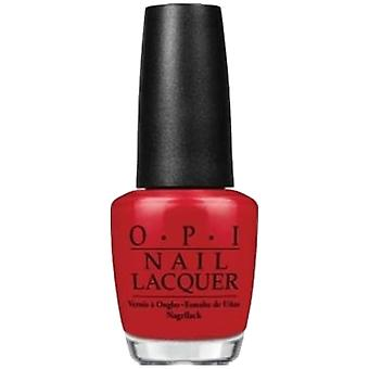 OPI Brasilien 2014 Nagellack Kollektion - Red Hot Rio (NL A70) 15ml