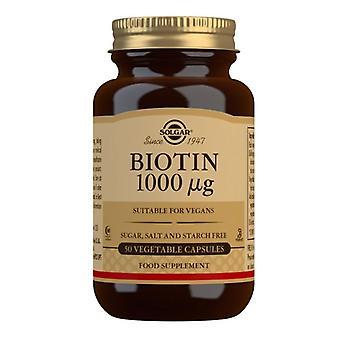 Solgar Biotin 1000ug Capsules 50 (310)