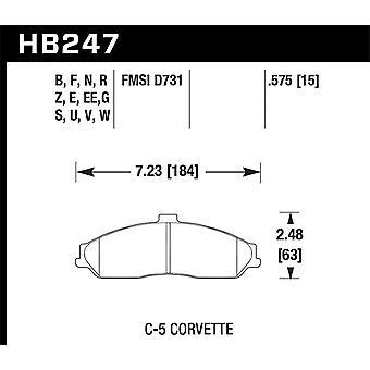 Hawk prestaties HB247B. 575 HPS 5,0