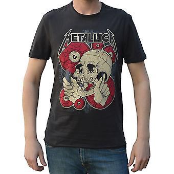 Amplified Metallica Watching you Crew Neck T-Shirt