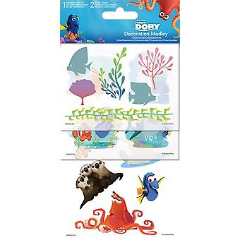 Sticker Decoration Medley - Finding Dory - Games Toys Set Pack sc5077