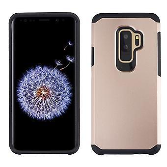ASMYNA רוז זהב/שחור Astronoot טלפון מגן כיסוי עבור גלקסי S9 Plus