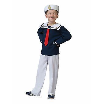 Matrose Kostüm Kinder Seemann Sailor Kinderkostüm Fasching Seefahrer Karneval