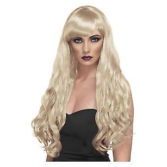 女性の欲望のかつら金髪の派手なドレス アクセサリー