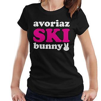 Avoriaz Ski Bunny Women's T-Shirt