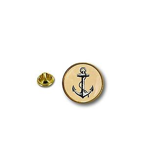 Pins Pin Badge Pin's Metal Broche Pince Papillon Drapeau Ancre Marine