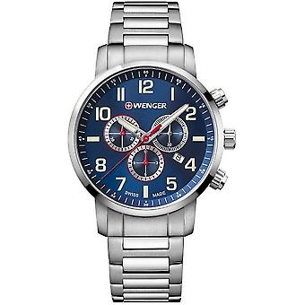 Wenger mens watch houding Chrono 01.1543.101