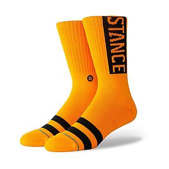 Stance OG Crew Socken in Tangerine