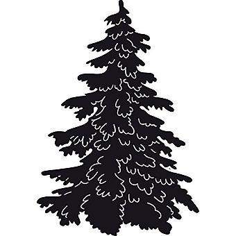 تصميم ماريان كرافتابليس تموت شجرة عيد الميلاد، رمادي