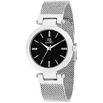 Roberto Bianci Women's Cristallo Black Dial Watch - RB0401