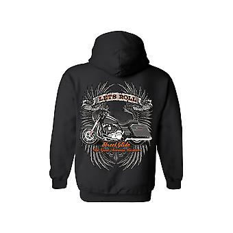 Unisexe Let's Roll grand passe-temps américain Zip Up Hoodie