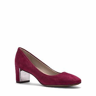 Donald J Pliner Womens Corin-D Suede Round Toe Classic Pumps Shoes Currant Re...