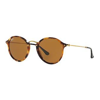 Ray-Ban RB2447 1160 Spotted Brown Havana/Brown Sunglasses