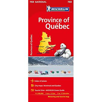 Quebec  Michelin National Map 760