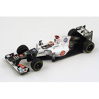 Sauber C31 (Kamui Kobayashi - Monaco GP 2012) Resin Model Car