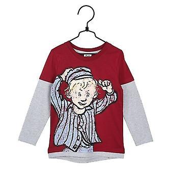 Emil in Lönneberga Funny Sweater (Red/Grey)