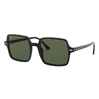 Ray-Ban 1973 Square II Black Green G-15