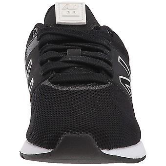 New Balance Women's 24v1 Lifestyle Sneaker, Black, 10 B US