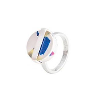 Christian Lacroix Ac tate XF22010A Ring - Silver Steel 14mm Women